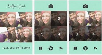 Aplikasi Kamera Selfie Grid