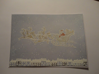Sleigh stamped image