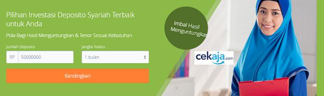 Investasi Deposito Syariah di CekAja.com