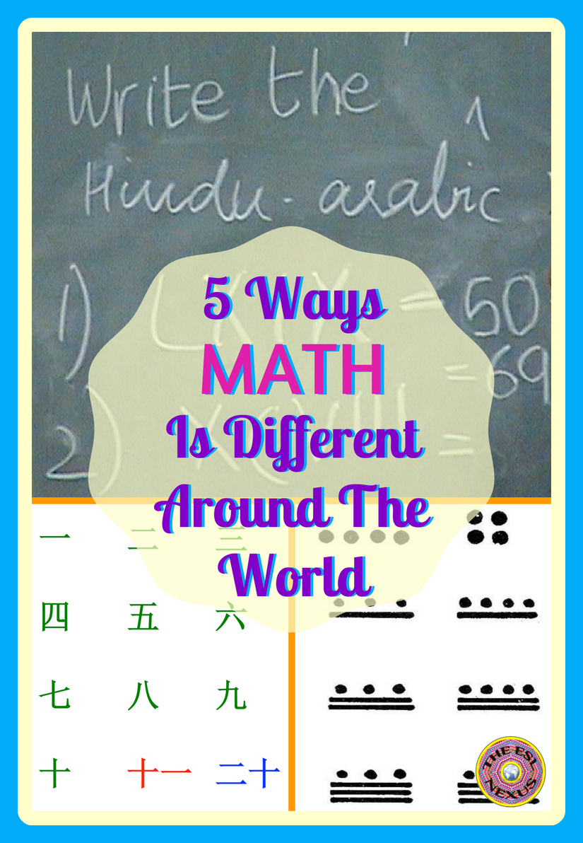 Why you need to know how math is different in other countries & 5 ways ELLs may be doing math differently from American ways | The ESL Connection