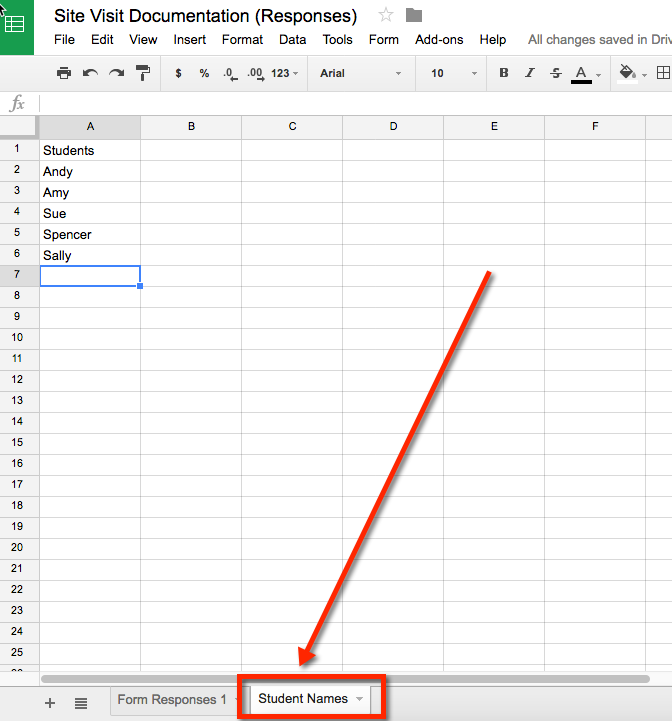 Google Script - Create a Drop-Down List from Spreadsheet Column