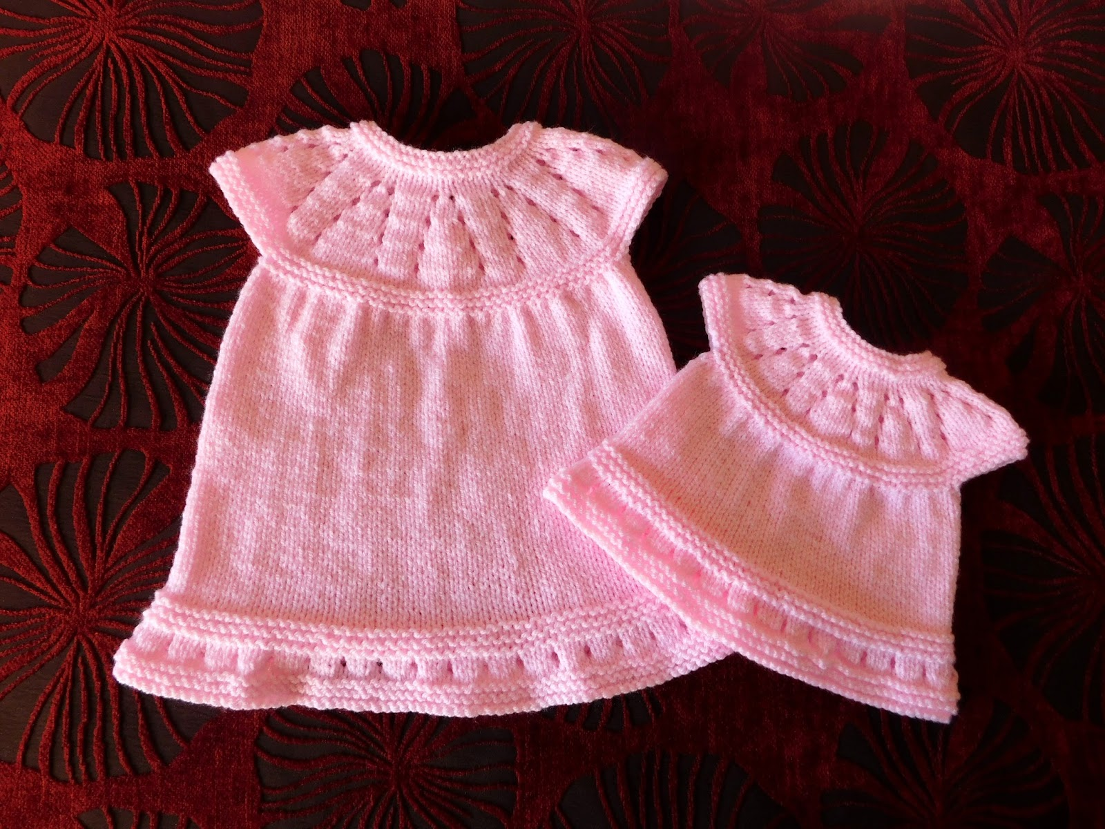 Knitting Pattern Baby All In One : mariannas lazy daisy days: Lazy Daisy All-in-One Baby Dress