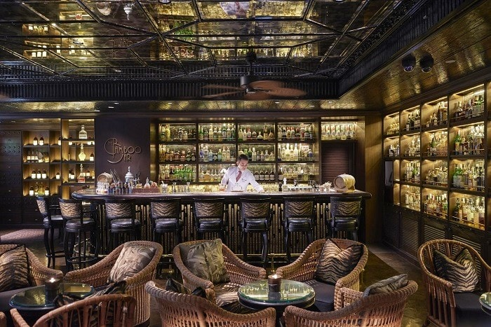 Top 13 - The Bamboo Bar at Mandarin Oriental Bangkok, and awarded as Best Bar in Thailand