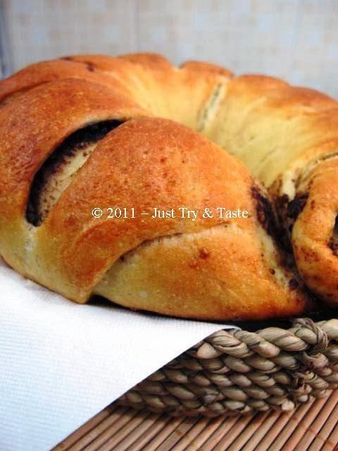Roti Isi Coklat : coklat, Obsesi, Gulung, Coklat, Kacang, Taste