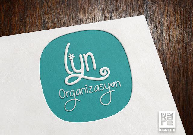 Organizasyon çiçekli logo tasarımı