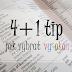 4+1 tip, jak si vybrat vysokou