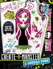 Monster High Create-a-Monster: A Doodle Book Book Item