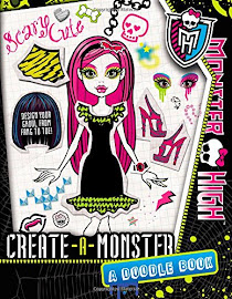 MH Create-a-Monster: A Doodle Book Media