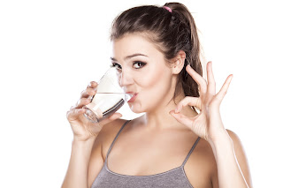 Two glasses of water to reduce fatness