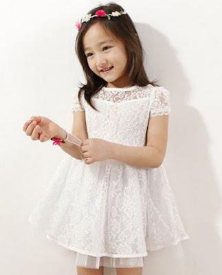 baju pesta anak princess simple
