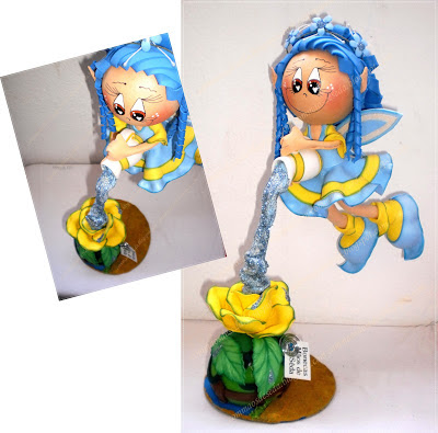 Fofucha Fada Azul
