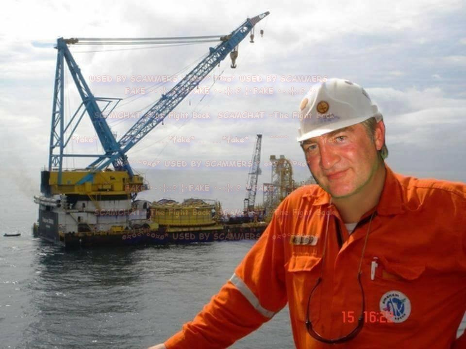 Oil rig scammer photos