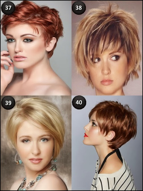 20 Short Hairstyles For Oval Faces Hair Fashion Online