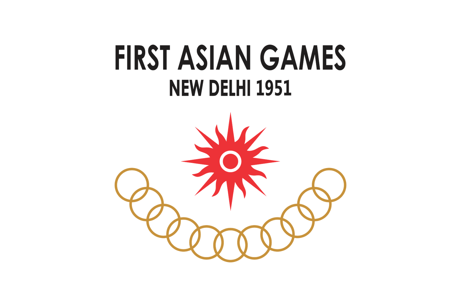 How To Draw Asian Games Logo