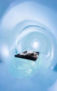 Vẻ đẹp ấn tượng bên trong khách sạn băng giá ở Thụy Điển 10