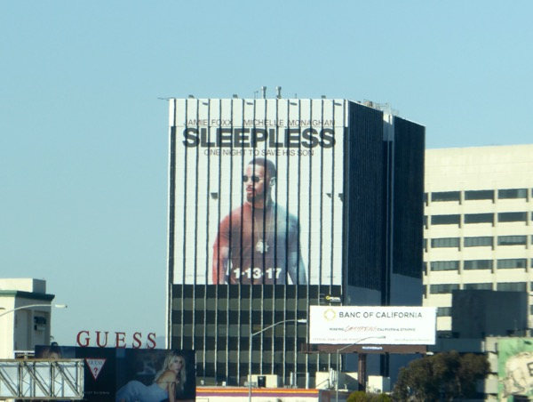 Giant Sleepless movie billboard