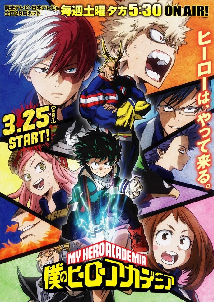 Boku no Hero Academia 2 – (2ª Temporada)