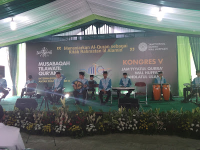 MTQ dan Kongres Jamiyyatul Qura Wal Hufadz Resmi di Buka
