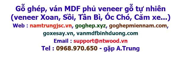 Liên hệ mua ván gỗ ghép, mdf phủ veneer gỗ tự nhiên