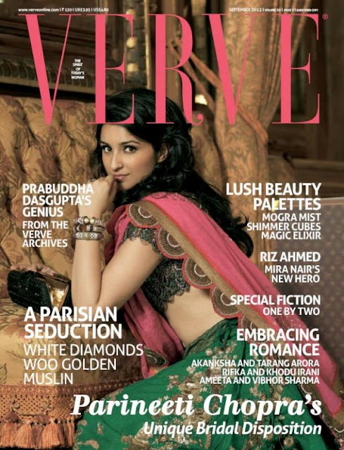 Parineeti Chopra Photo shoot for Verve Magazine