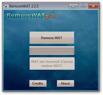 removewat win 7 32 bit