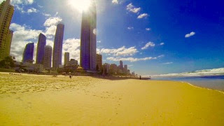 Surfers Paradise Beach Winter
