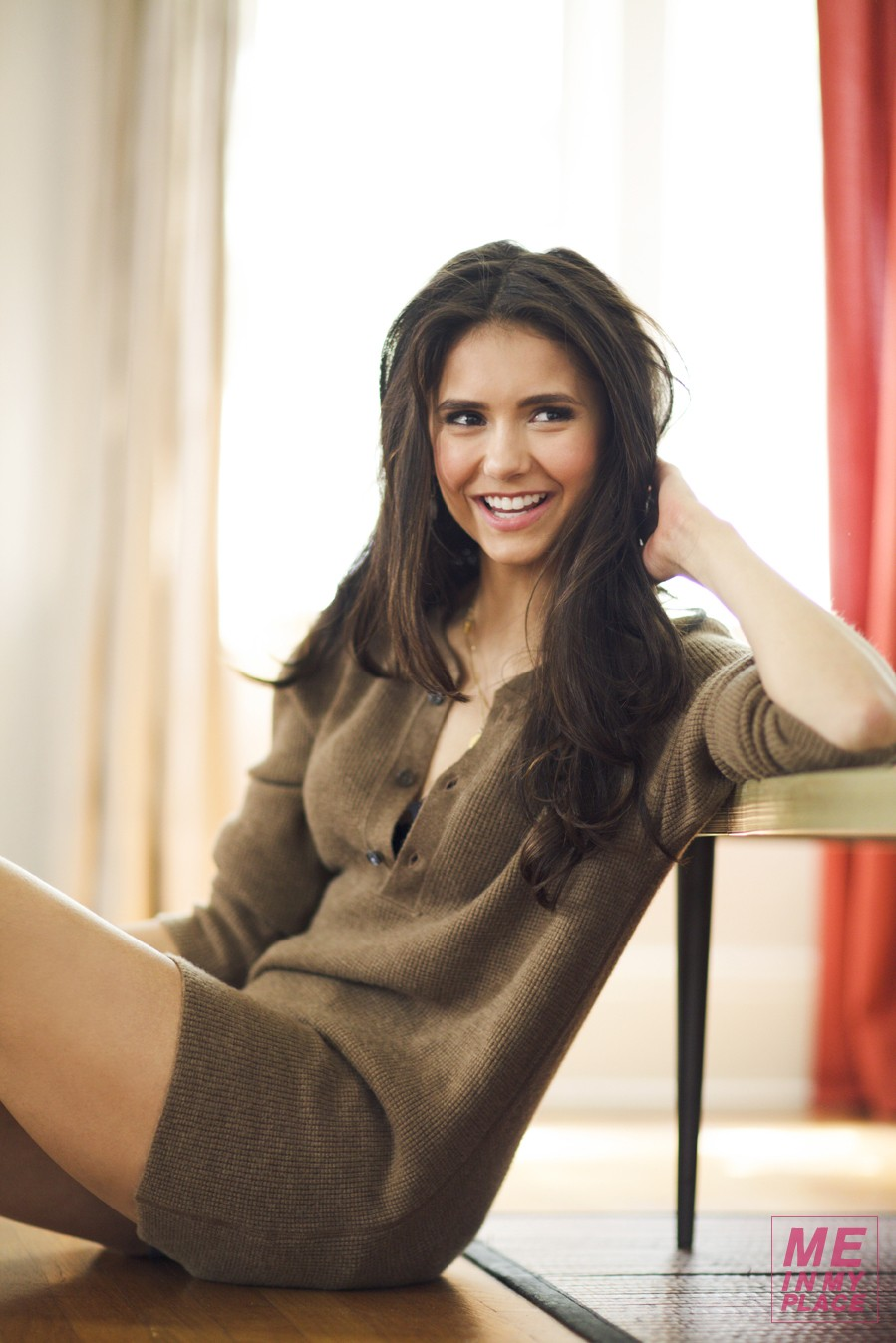 Nina Dobrev In My Place For Esquire August 2012