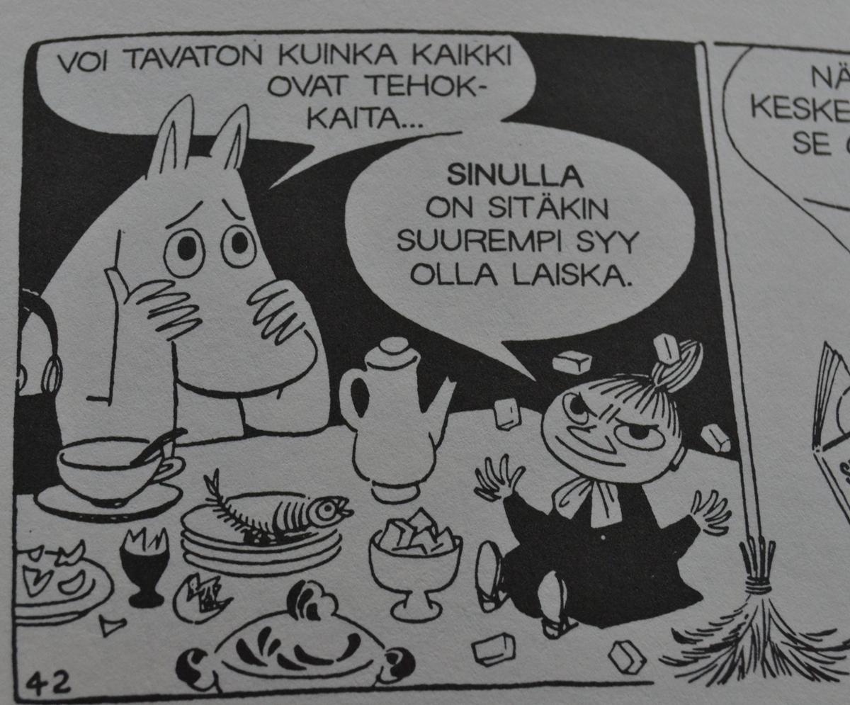 Kirjainten virrassa: Tove Jansson: Muumit - sarjakuvaklassikot IV