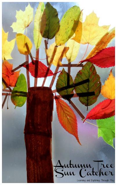Sticky Back Plastic Autumn Tree