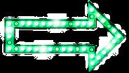 Seta luz verde
