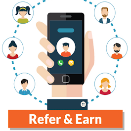 Pay off your debt by referring friends. Click Refer & Earn