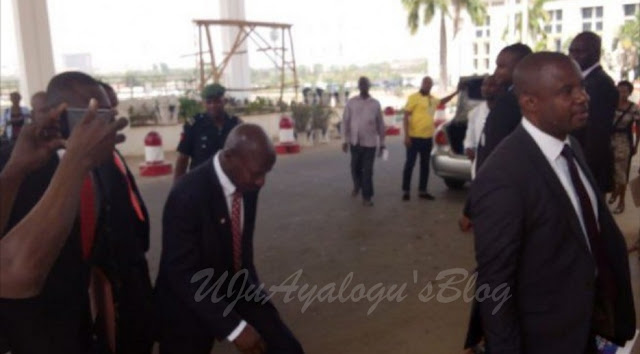 BREAKING News: EFCC Boss, Ibrahim Magu Appears Before House Of Reps