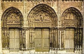 Pórtico Real de la catedral de Chartres