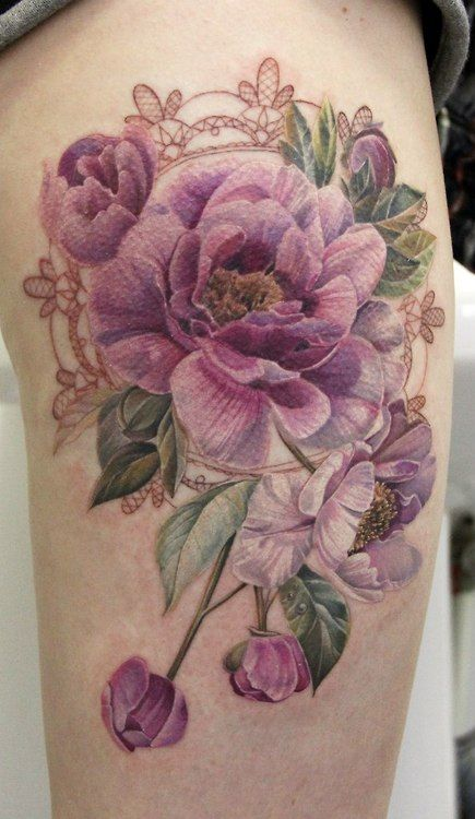 Stunning Flower Tattoos For Women