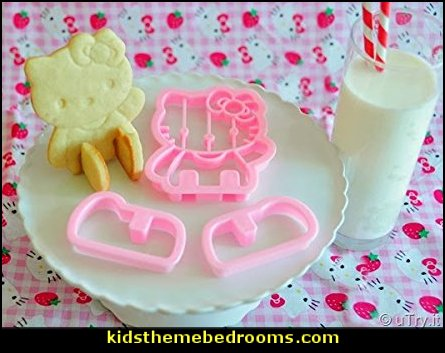 Adorable Hello Kitty 3D Cookie Cutter