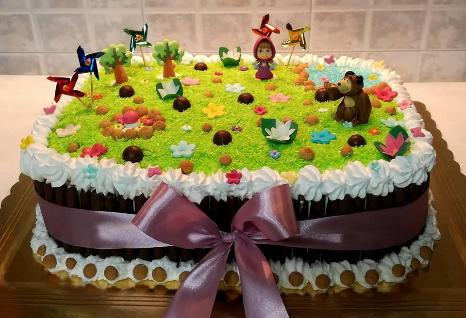 Nonsolopreziosi Torta Masha E Orso
