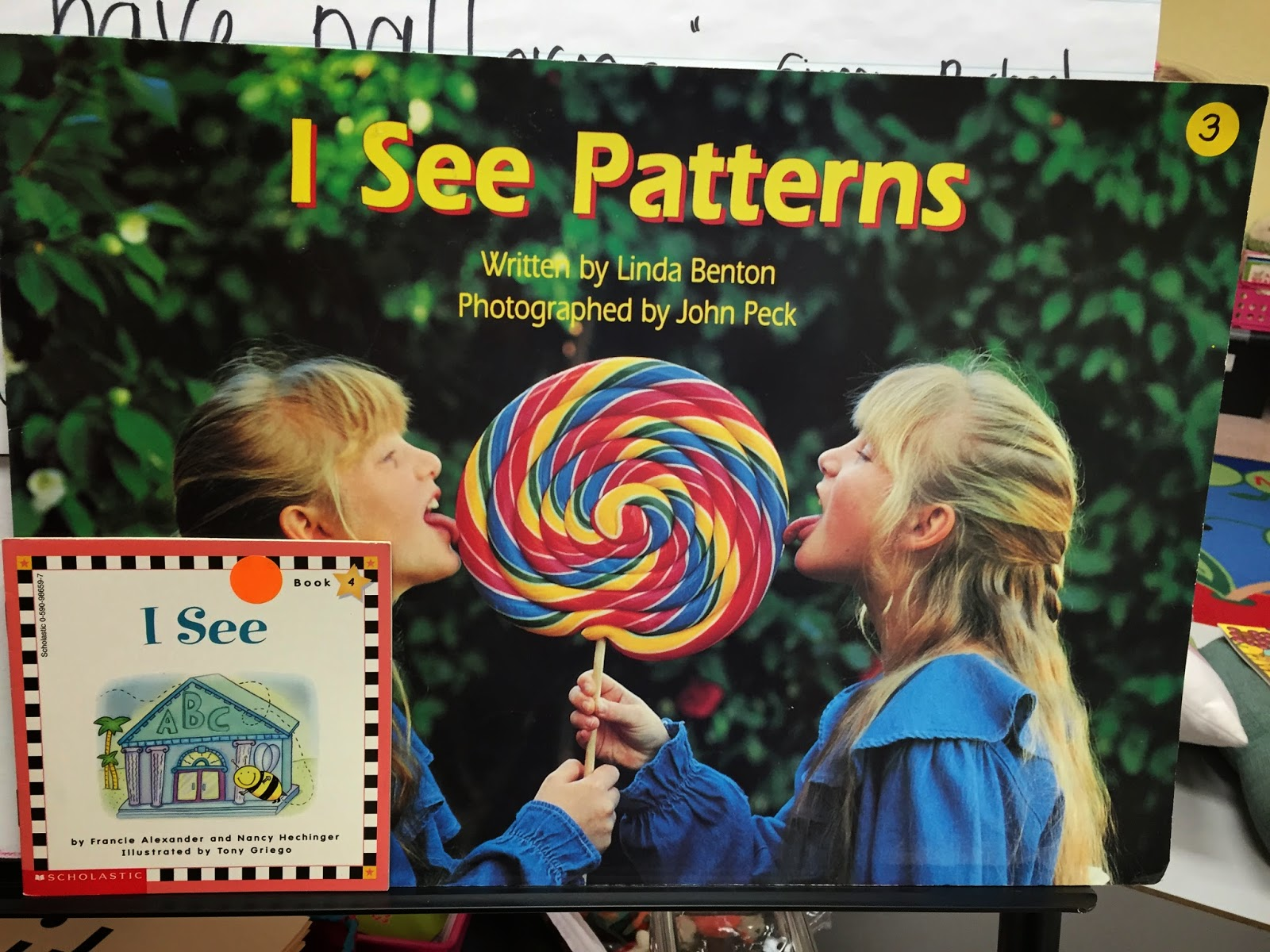kindergarten kids pattern book writing