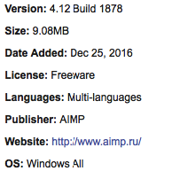 Download AIMP Offline Installer For Windows