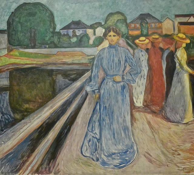 Edvard Munch Femmes sur le pont (1902_1903) Bergen