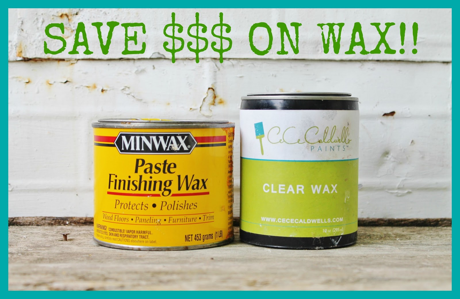 Save Money On Furniture Wax Knick Of Time