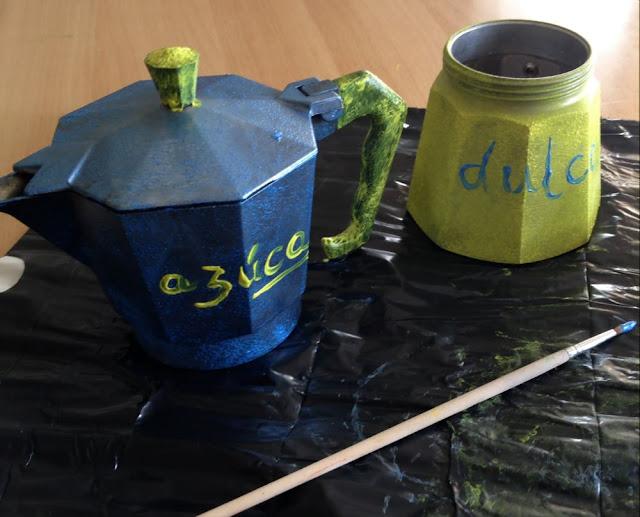 DIY recicla una cafetera italiana