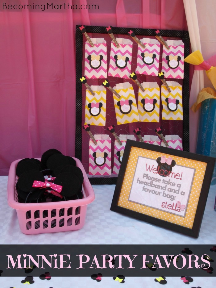 Minnie Mouse Party Favors The Simply Crafted Life