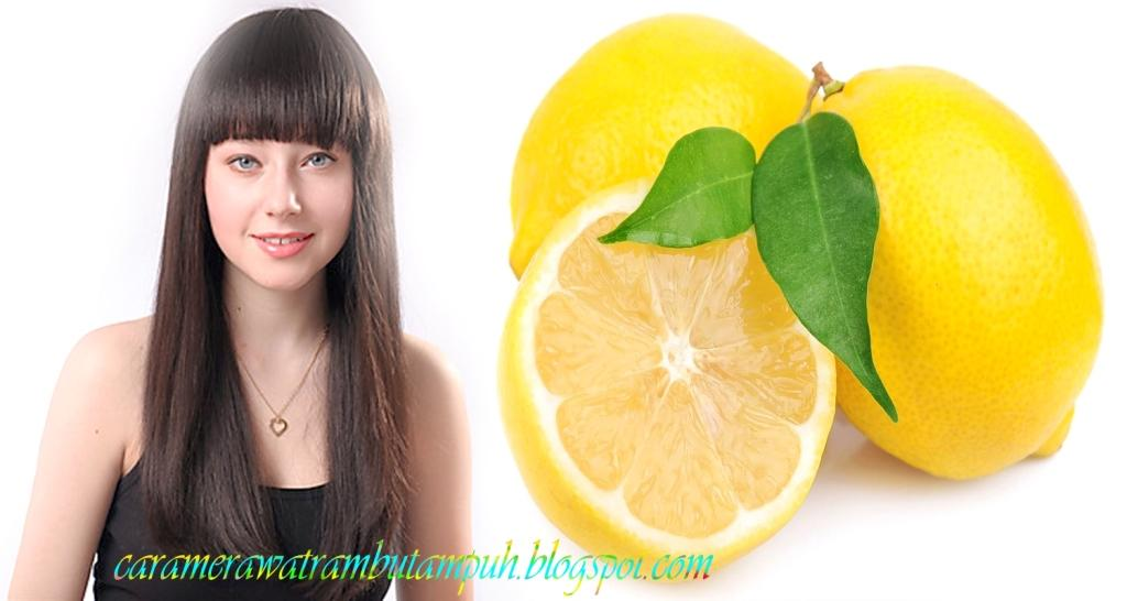 Cara merawat rambut menggunakan jus lemon