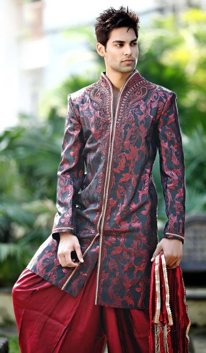 Beautiful Mens Kurta Designs 2016 New Trend Sherwani Jeans
