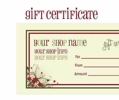 Awesome Gift Certificate Templates Lpamd