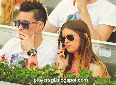Callejón and his girlfriend Marta