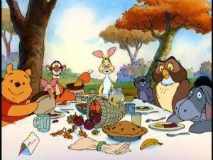 A Look At Disney A Winnie The Pooh Thanksgiving Manic