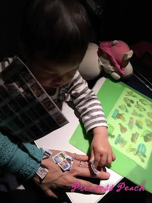 stickers-飛機玩具