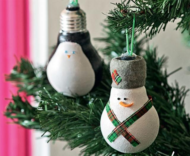 decorazioni natalizie fai da te natale 2016 christmas decoration diy christmas 2016 decorazioni natalizie fatte con lampadine colorblock by felym