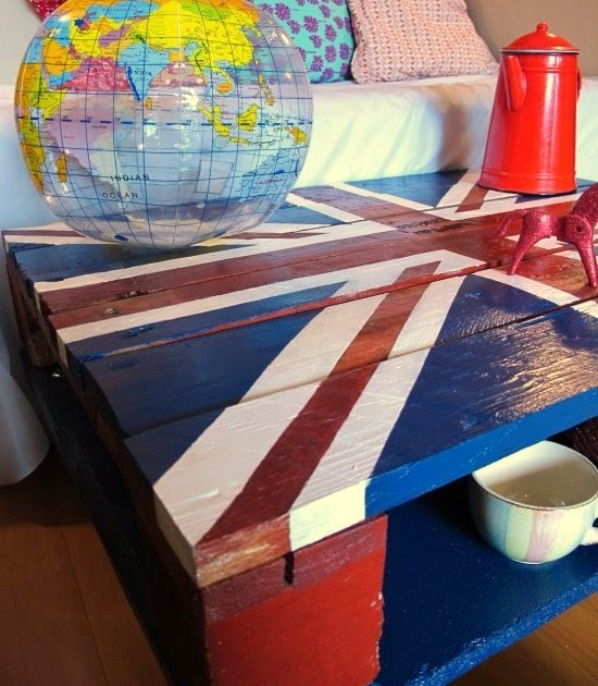 Dishfunctional designs god save the pallet reclaimed - Table basse palette roulettes ...